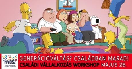 05.26. Így vedd át/add át a család céget: Családi vállalkozás Workshop 05.26. - Generációváltás