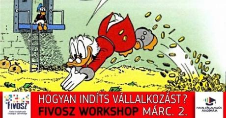 Hogyan indíts vállalkozást 2 nap alatt? - Workshop - március 2.