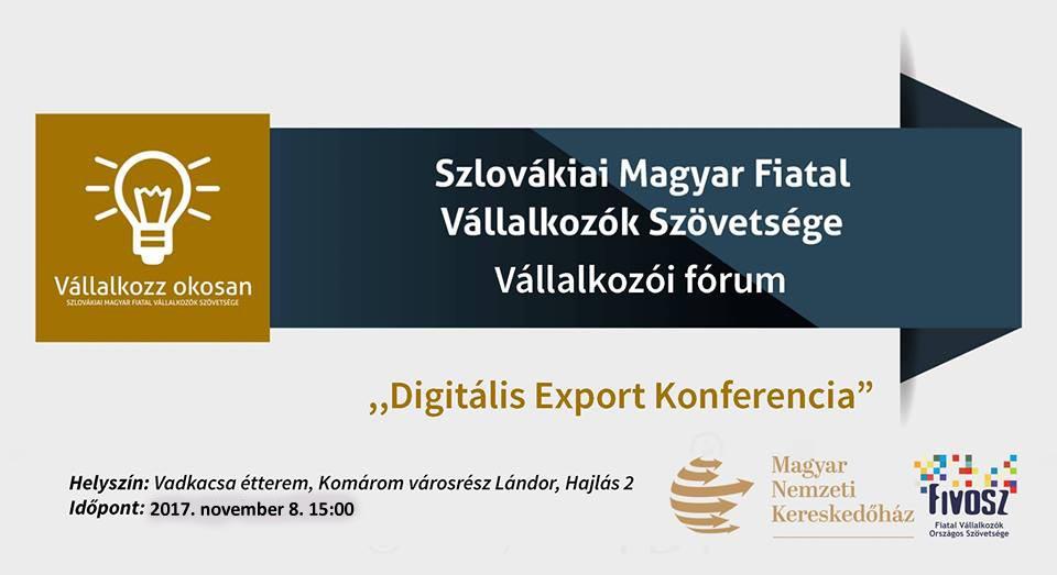 Digitális Export Konferencia az MNKH-val – Neked is ott a helyed!