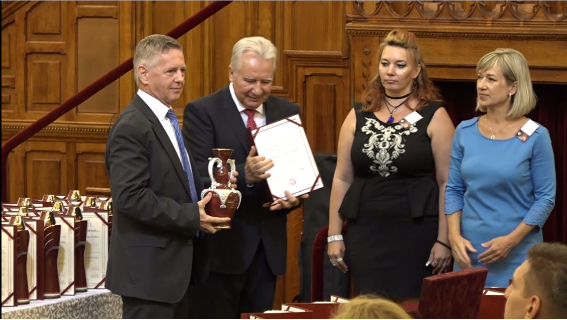 Tagunk, a Legrand Zrt. érdemelte ki a Magyar Termék Nagydíj Pályázat hűség díját