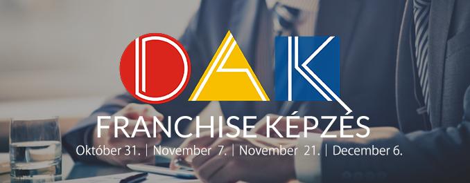 Dakexpo Franchise Tanácsadó Kft. képzéssorozat: a sikeres hálózatépítés és marketing