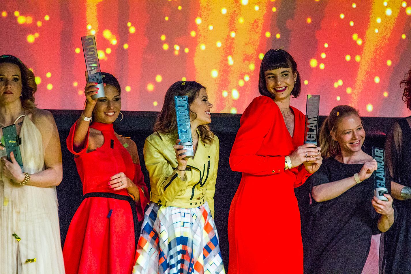 Burján Szafinak adtuk át különdíjunkat a Glamour Women of The Year Gálán!