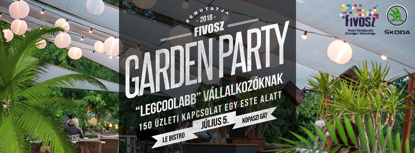 FIVOSZ Garden Party – COOL Vállalkozóknak