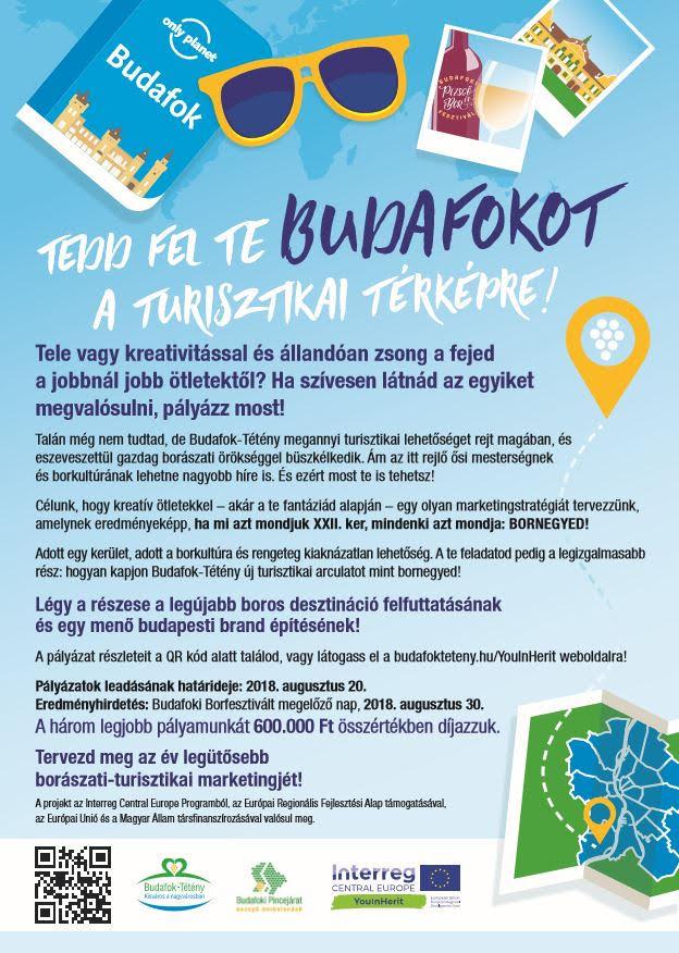 Budafok-Tétény Városmarketing Ötletpályázat!