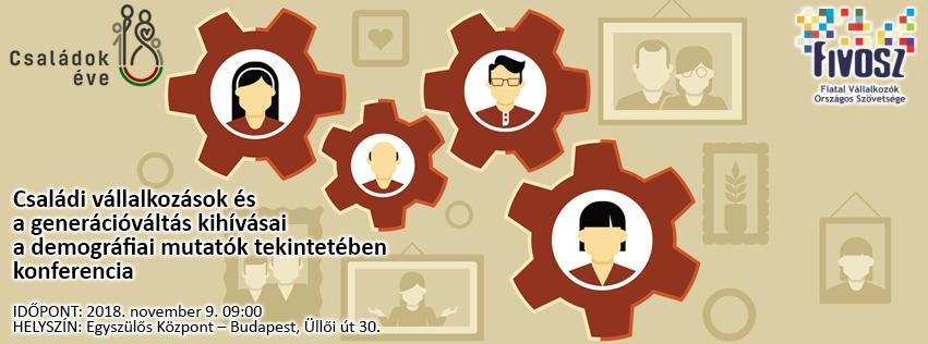 Konferencia: Családi vállalkozások és a generációváltás kihívása