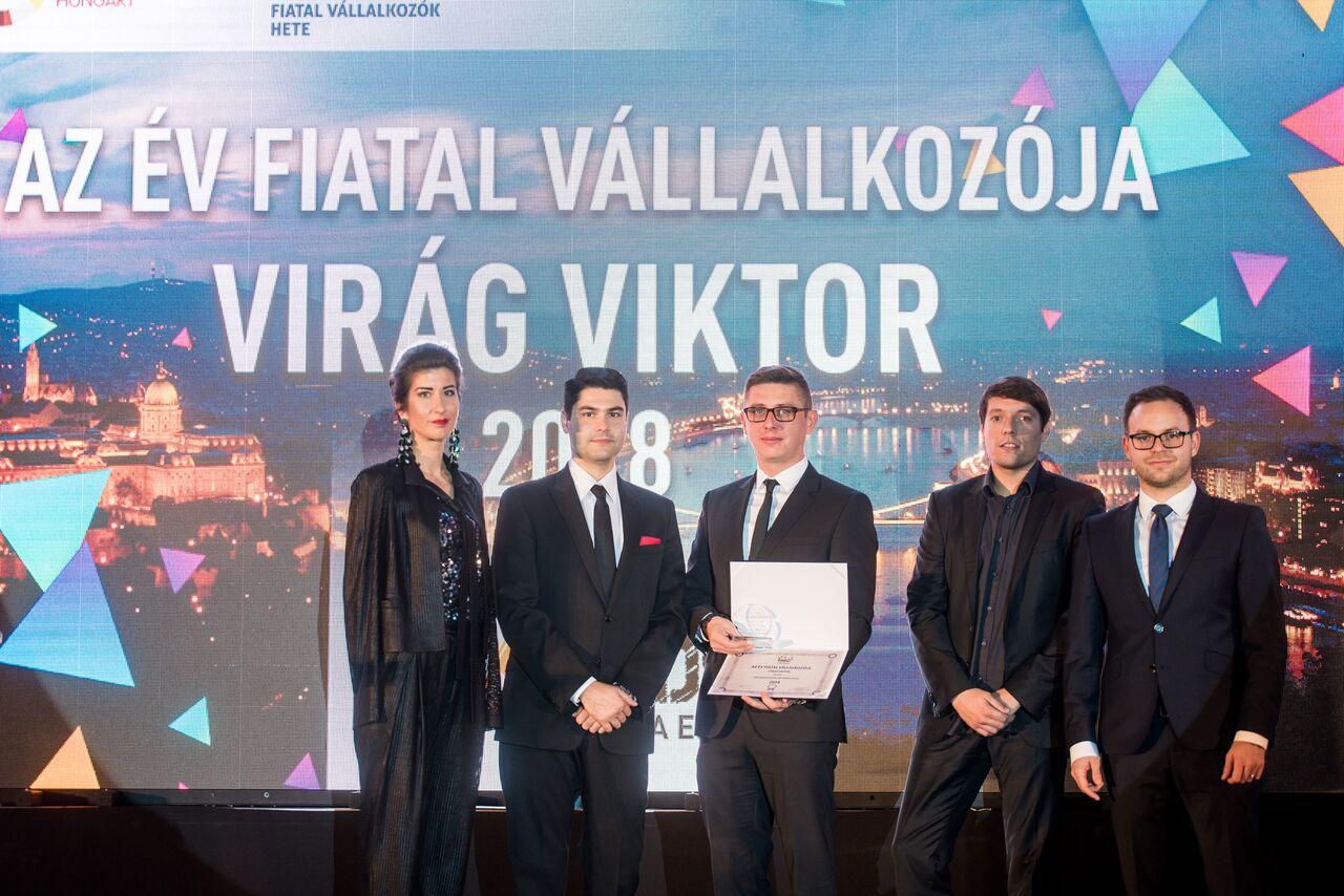 Az Év Fiatal Vállalkozója 2018-ban Virág Viktor!