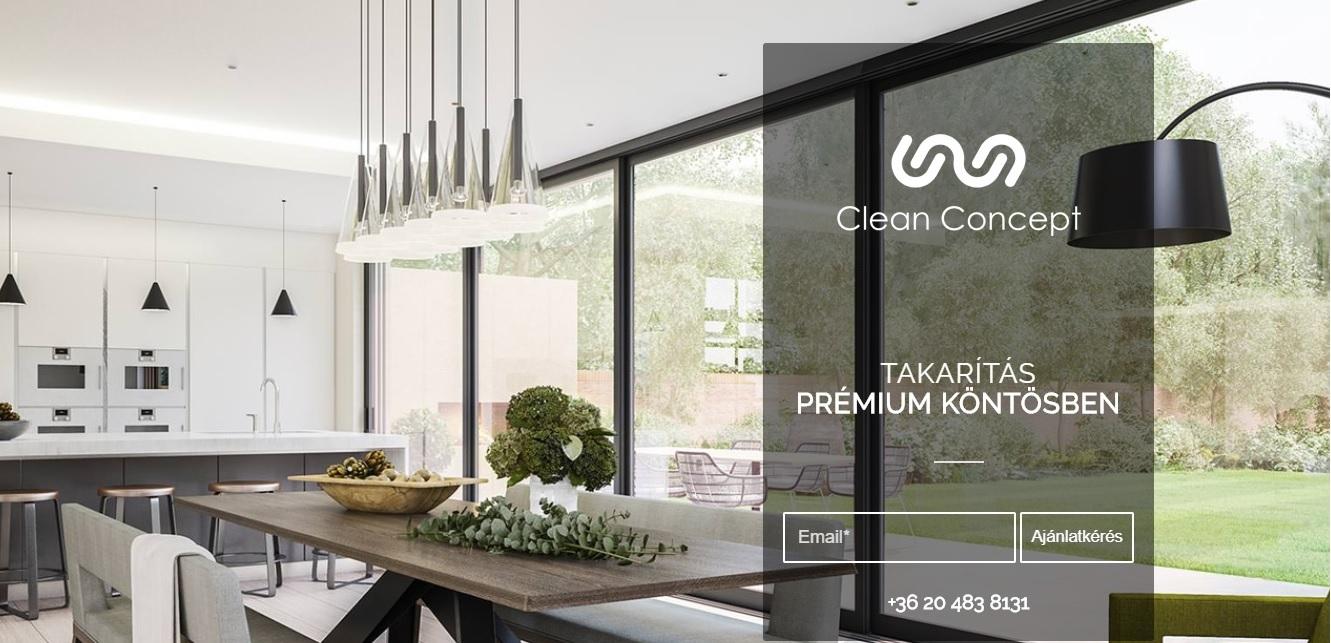 CleanConcept – Takarítás prémium köntösben