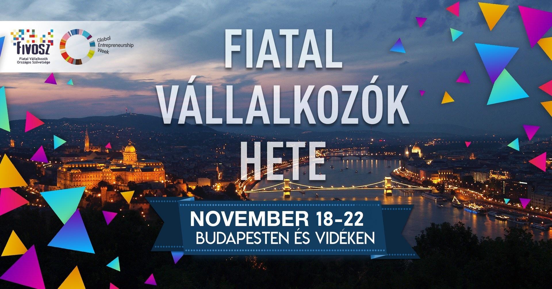 FIATAL VÁLLALKOZÓK HETE 2019