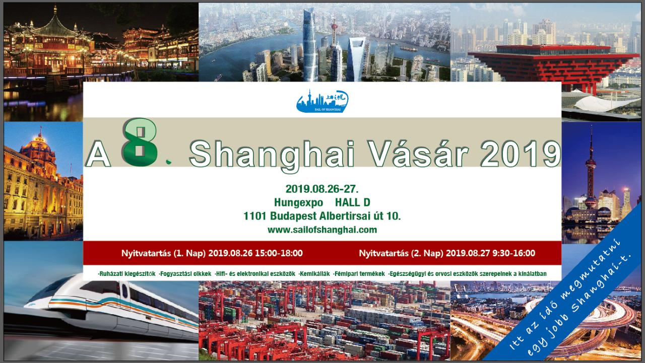 Shanghai Vásár 2019 – HUNGEXPO
