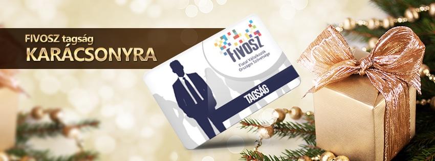 Ajándékozz FIVOSZ tagságot karácsonyra!