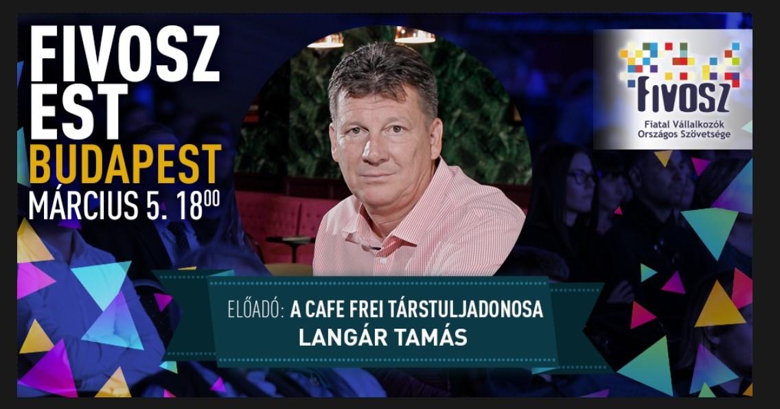 FIVOSZ Business Show— a CAFE FREI vezérévével