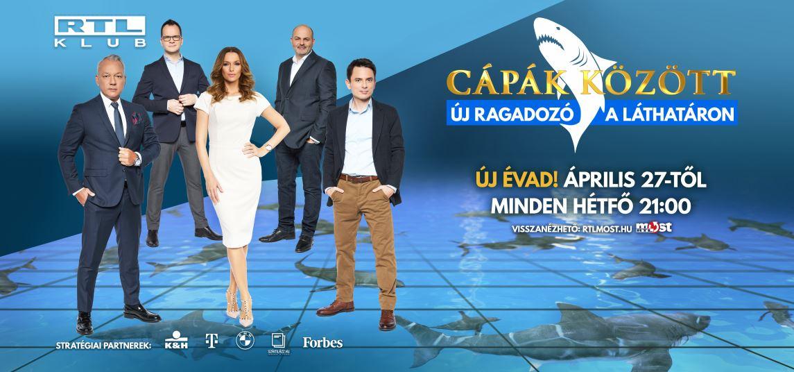 A FIVOSZ lett a Cápák között TV műsor egyik szakmai partnere