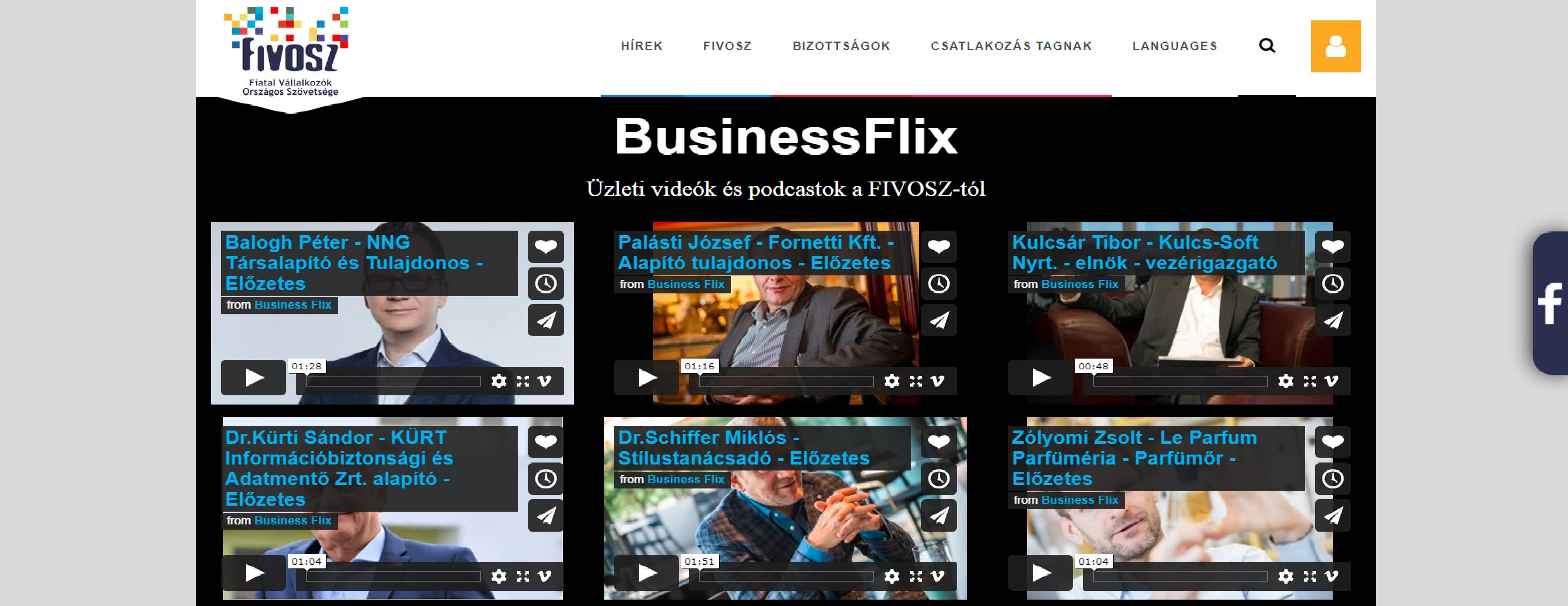 KORLÁTLAN BusinessFlix? IGEN